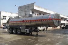 醒狮11.5米30.3吨3轴易燃液体罐式运输半挂车(SLS9400GRY)