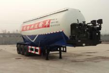 中梁宝华10.2米29.5吨3轴低密度粉粒物料运输半挂车(YDA9401GFL)