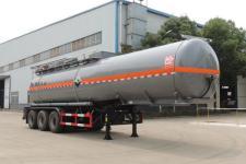 醒狮11.6米33.7吨3轴腐蚀性物品罐式运输半挂车(SLS9401GFW)