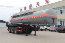 醒狮10.4米32吨3轴腐蚀性物品罐式运输半挂车(SLS9409GFW)