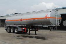 醒狮10.8米30吨3轴易燃液体罐式运输半挂车(SLS9409GRY)