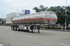 运力12.6米33吨3轴铝合金运油半挂车(LG9403GYY)