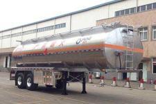 运力10米29.7吨2轴铝合金运油半挂车(LG9352GYY)