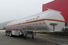 海福龙11.9米33.5吨3轴铝合金易燃液体罐式运输半挂车(PC9401GRYK)