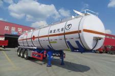 海福龙12米31吨3轴易燃液体罐式运输半挂车(PC9404GRYK)