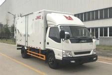 江铃汽车国五单桥厢式运输车116-156马力5吨以下(JX5048XXYXGC2)