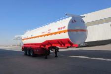 正康宏泰11米31吨3轴腐蚀性物品罐式运输半挂车(HHT9400GFWA)