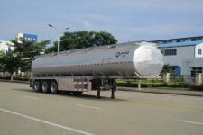 运力11.9米32.8吨3轴铝合金食用油运输半挂车(LG9400GSY)