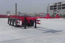 大运9.6米35.2吨3轴集装箱运输半挂车(DYX9400TJZ347)