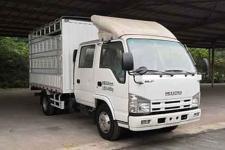 庆铃国五单桥仓栅式运输车98-132马力5吨以下(QL5040CCYA6HW)