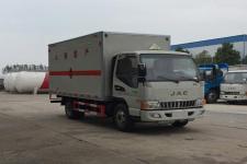 江淮4米2国五易燃气体厢式运输车价格