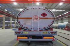 海福龙牌PC9350GYYA型铝合金运油半挂车图片