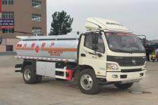 福田欧马可8吨流动移动加油油罐车价格