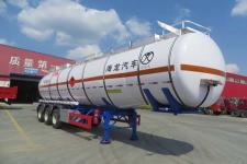 海福龙12米31.5吨3轴易燃液体罐式运输半挂车(PC9404GRYF)