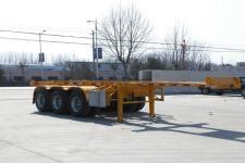 锣响7.3米35.4吨3轴集装箱运输半挂车(LXC9403TJZ)