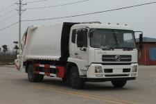 厂家直销东风天锦12方压缩式垃圾车价格