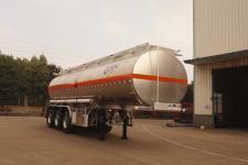运力10.2米28.5吨3轴铝合金运油半挂车(LG9350GYYS)