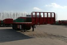 华宇达10.5米33.1吨3轴平板运输半挂车(LHY9402TPB)