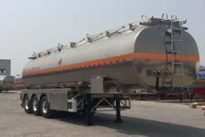 昌骅11.1米33.6吨3轴铝合金运油半挂车(HCH9401GYYHQ)