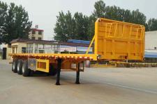鲁际通牌LSJ9400TPB型平板运输半挂车