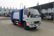 江鈴5方壓縮式垃圾車價格