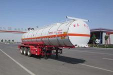正康宏泰10.5米31.1吨3轴毒性和感染性物品罐式运输半挂车(HHT9400GDG)