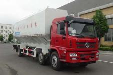 國五陜汽小三軸散裝飼料運輸車