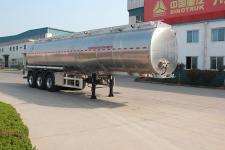 綠葉11.5米33.6噸3軸潤滑油罐式運輸半掛車(JYJ9400GRH)