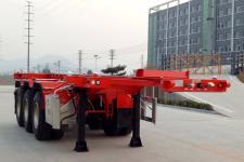 锣响7.8米35.1吨3轴集装箱运输半挂车(LXC9404TJZ)