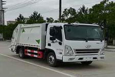 四川现代6方压缩式垃圾车