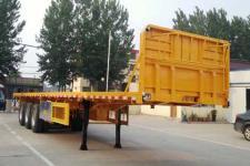 鲁际通10.5米34.3吨3轴平板运输半挂车(LSJ9401TPB)