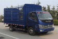福田牌BJ2043Y8JDS-AC型越野仓栅式运输车图片