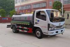 國六東風多利卡8方灑水車價格