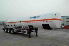 中集11.8米28.3吨3轴低温液体运输半挂车(NTV9402GDYE)