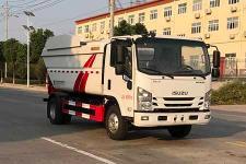 国六五十铃自装卸式垃圾车多少钱