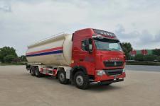 华威驰乐牌SGZ5310GFLZZ6T7型低密度粉粒物料运输车|国六重汽前四后八粉粒物料运输车13329882498
