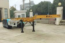 中集12.4米34.5噸3軸危險品罐箱骨架運輸半掛車(ZJV9405TWYSZ)