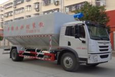 国六解放散装饲料运输车多少钱一辆?