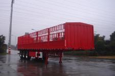 中集13米33.5吨3轴仓栅式运输半挂车(ZJV9400CLXTH)