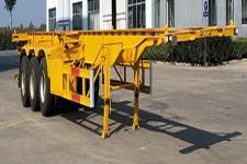 粱鋒12.4米35噸3軸集裝箱運輸半掛車(LYL9400TJZ)