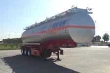 昌骅11米31吨3轴腐蚀性物品罐式运输半挂车(HCH9400GFW33)