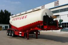 腾运10.2米31吨3轴中密度粉粒物料运输半挂车(LLT9400GFL)