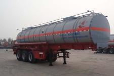 昌骅10.2米31.1吨3轴腐蚀性物品罐式运输半挂车(HCH9400GFWLW)