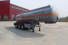 海福龙9.9米32吨3轴腐蚀性物品罐式运输半挂车(PC9400GFWA)