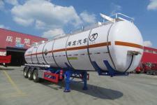 海福龙12.1米30.2吨3轴腐蚀性物品罐式运输半挂车(PC9400GFWC)
