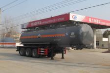 程力威10米30.1噸3軸腐蝕性物品罐式運輸半掛車(CLW9403GFWB)