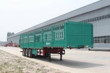 恒通梁山12.5米33吨3轴仓栅式运输半挂车(CBZ9400CCYE)