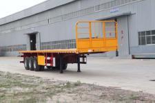 恒通梁山12.5米33吨3轴平板运输半挂车(CBZ9400TPB)