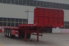 梁昇12.5米33.5吨3轴平板运输半挂车(SHS9400TPBE)