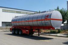 昌骅10.4米30.9吨3轴腐蚀性物品罐式运输半挂车(HCH9400GFWJS)